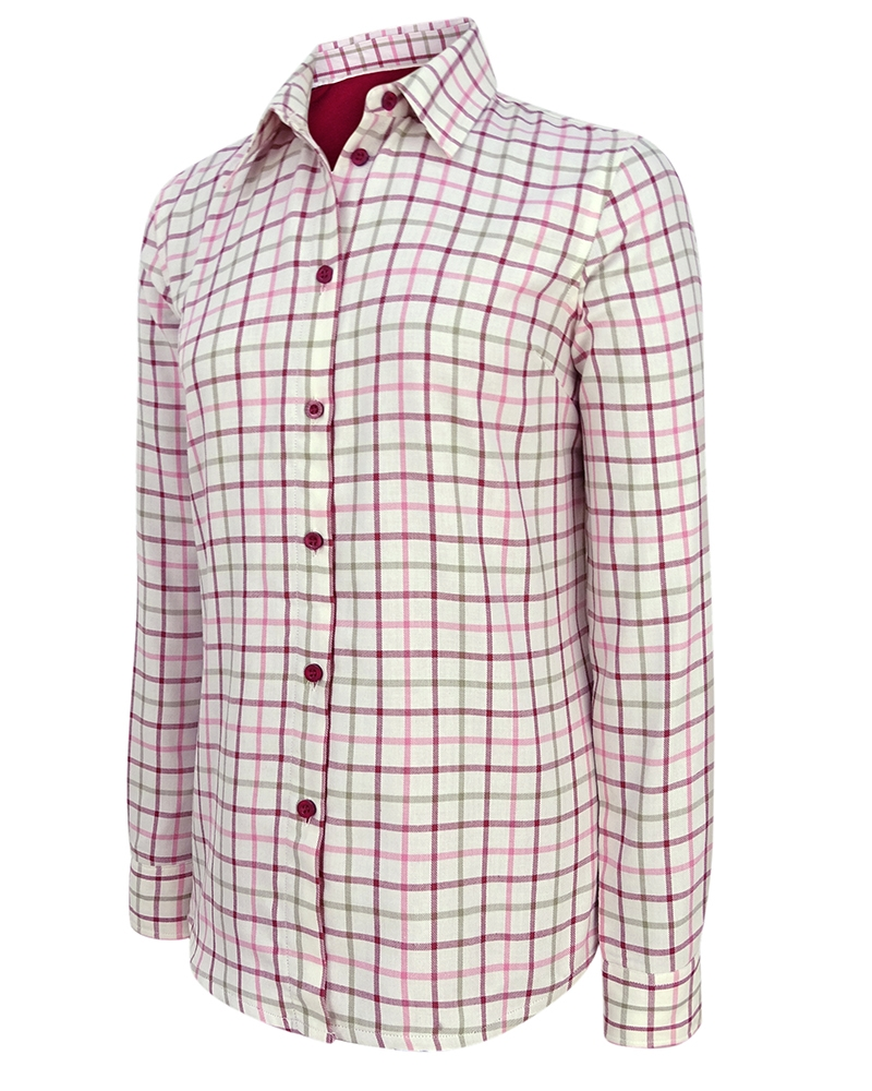Image for Erin Ladies Jersey Lined Shirt