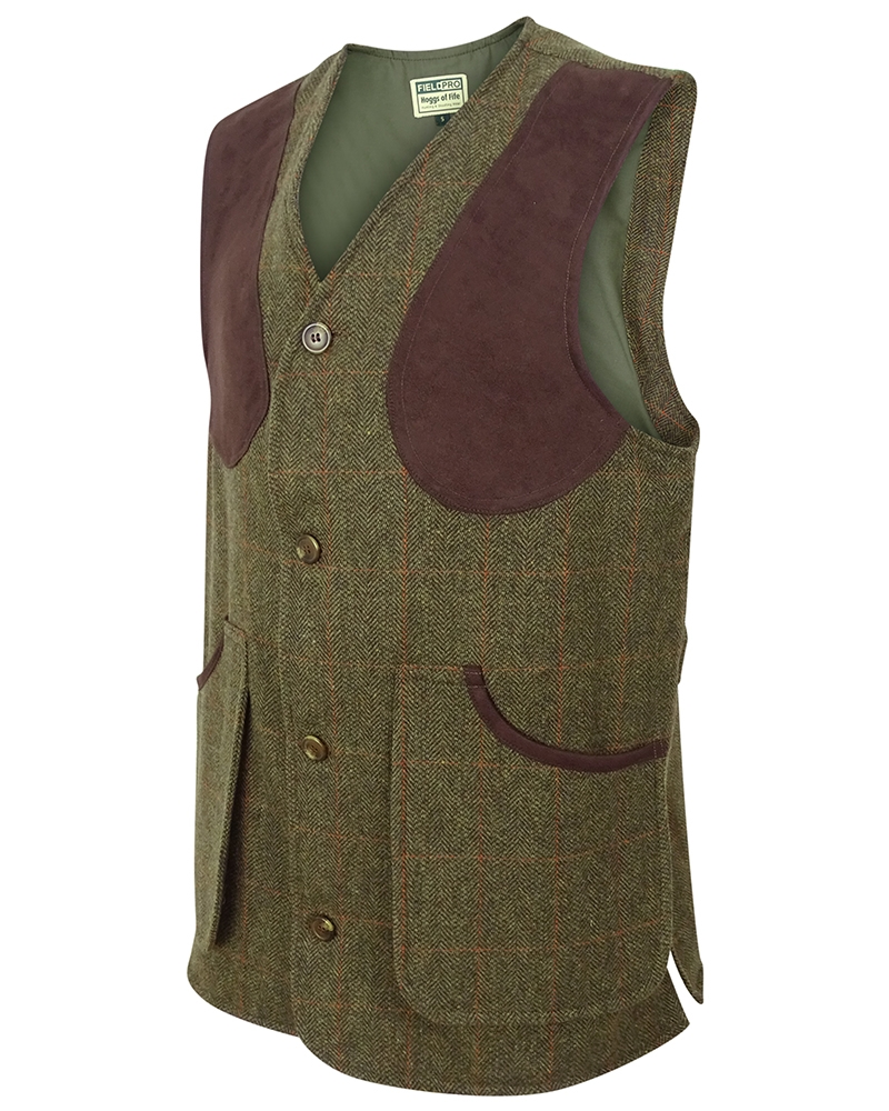 Image for Harewood  Lambswool Tweed Shooting Vest