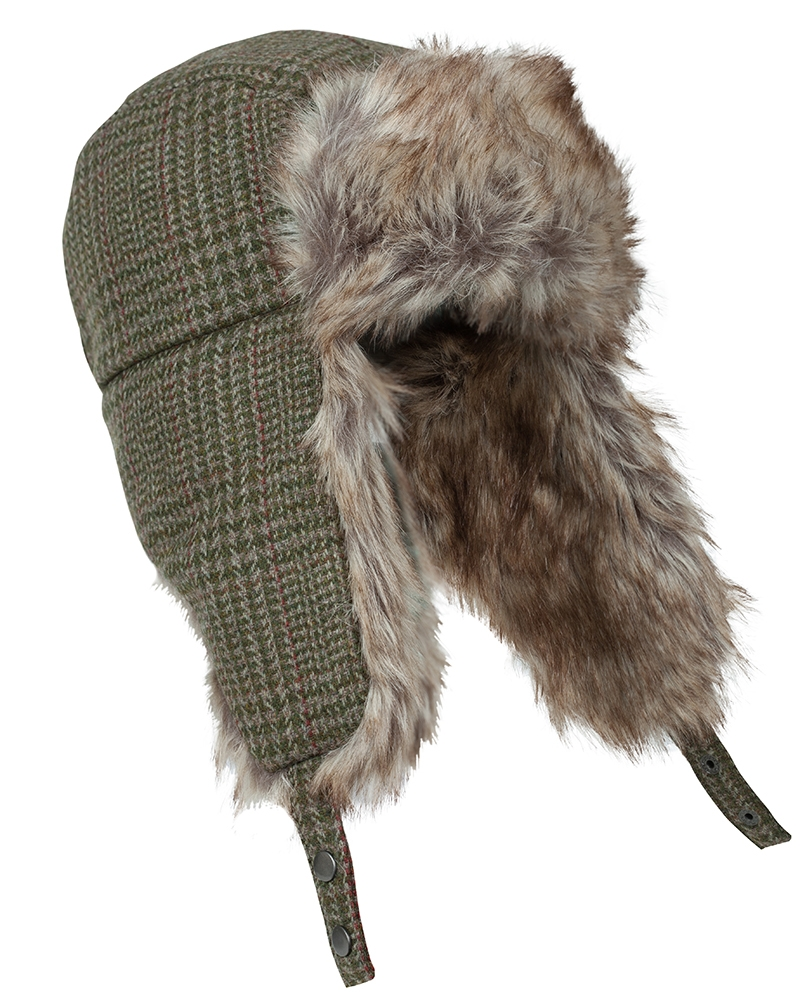 Image for Invergarry Tweed Trapper Hat