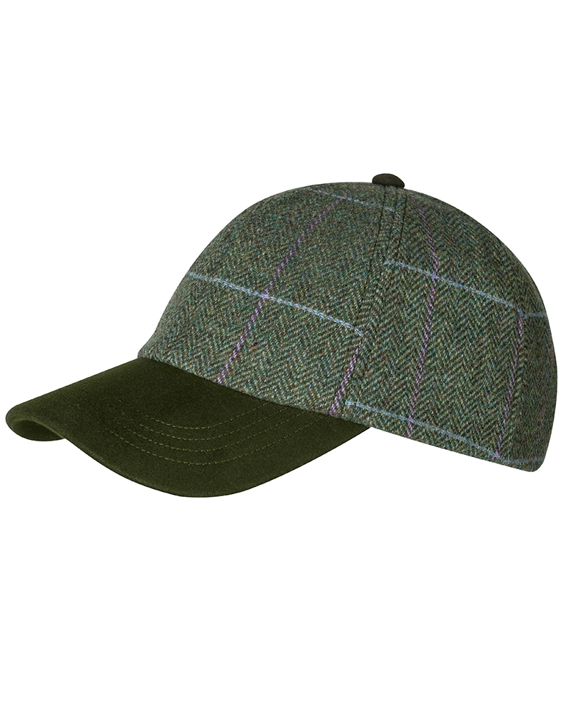 Image for Albany Ladies Lambswool Tweed Baseball Cap
