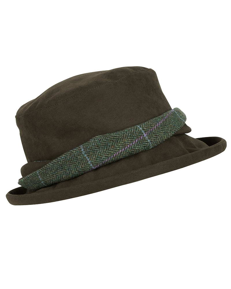 Image for Albany Ladies Lambswool Tweed-Twist W/P Hat