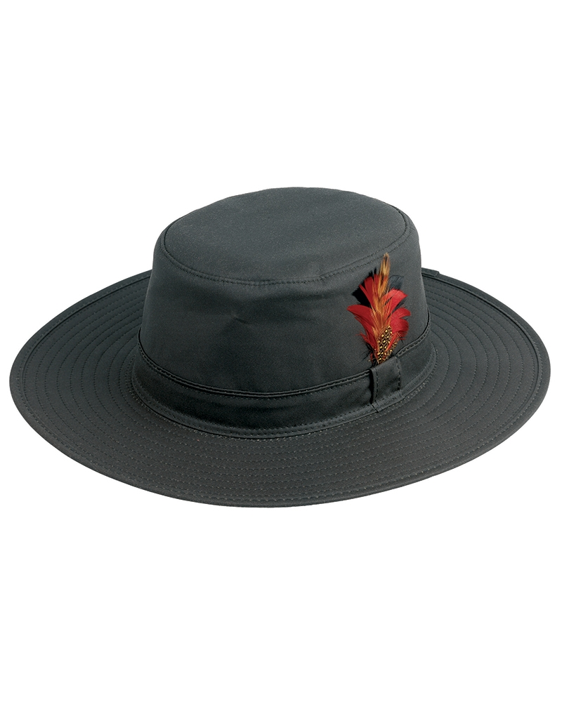 Image for Waxed Aussie-style Hat