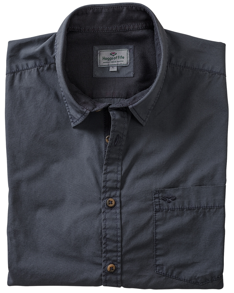 Image for Speyside Overdyed Plain Shirt