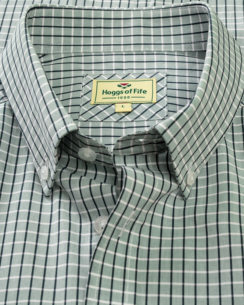 Image for Perth Short Sleeve Checked Shirt