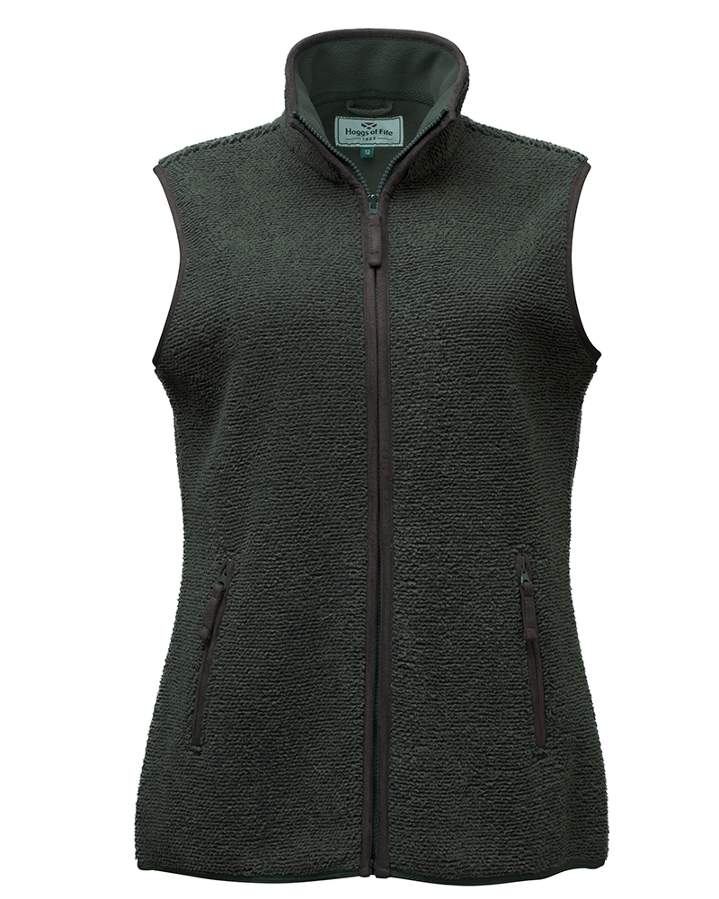 Image for Sussex Ladies Tufted Fleece Gilet