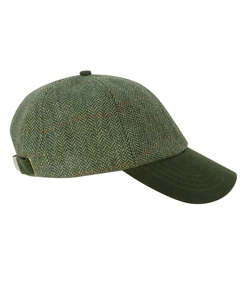 Image for Helmsdale Tweed Baseball Cap