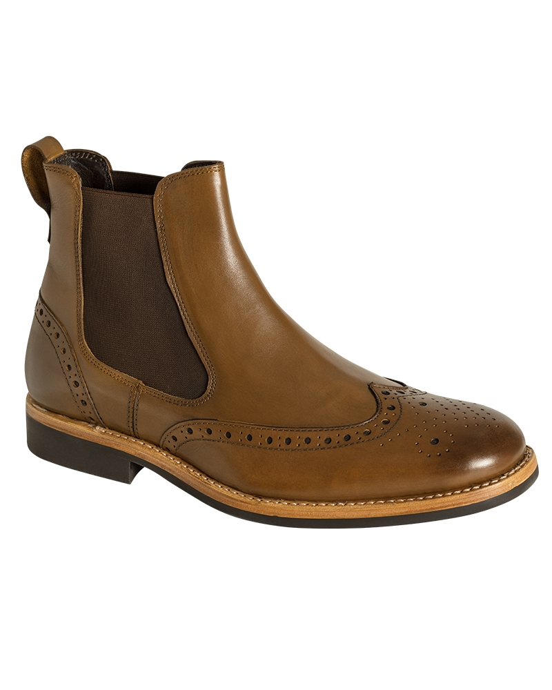 Image for Stanley Semi-Brogue Dealer Boots
