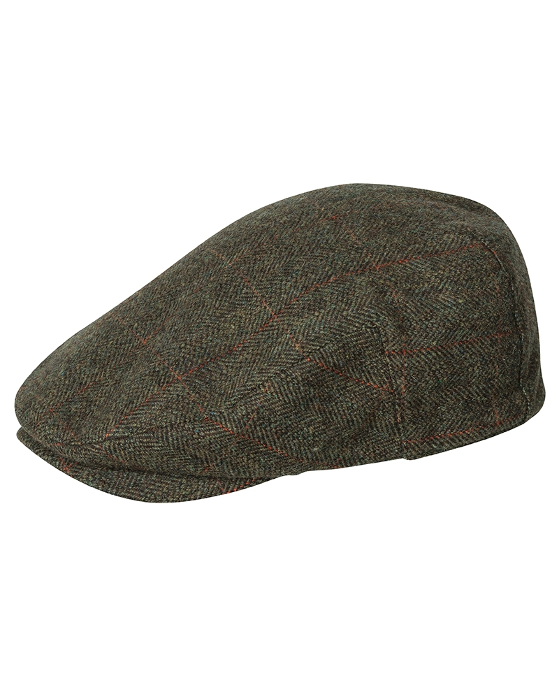 Image for Harewood Lambswool Tweed Waterproof Cap