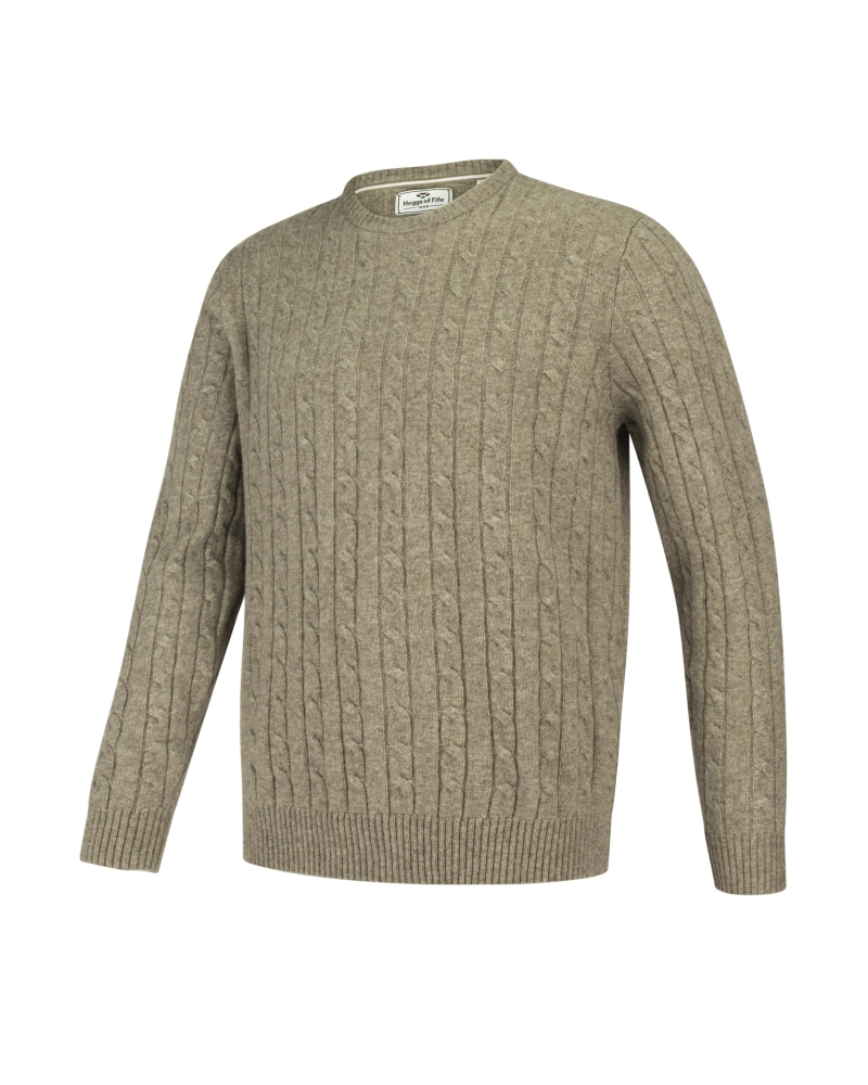 Image for Jedburgh Crew Neck Cable Pullover