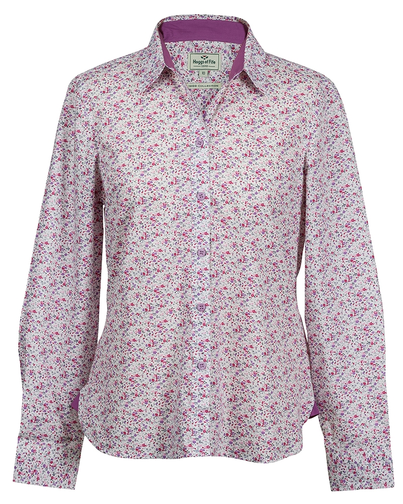 Image for Bella Ladies Floral Shirt