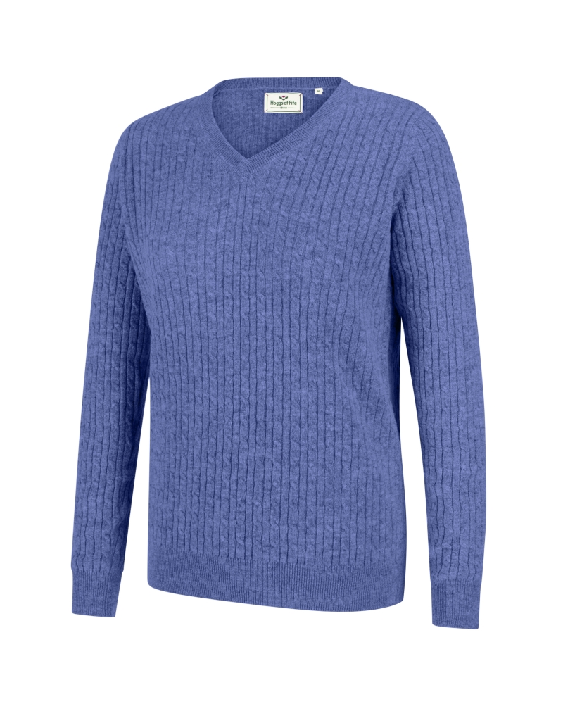 Image for Lauder Ladies Cable Pullover