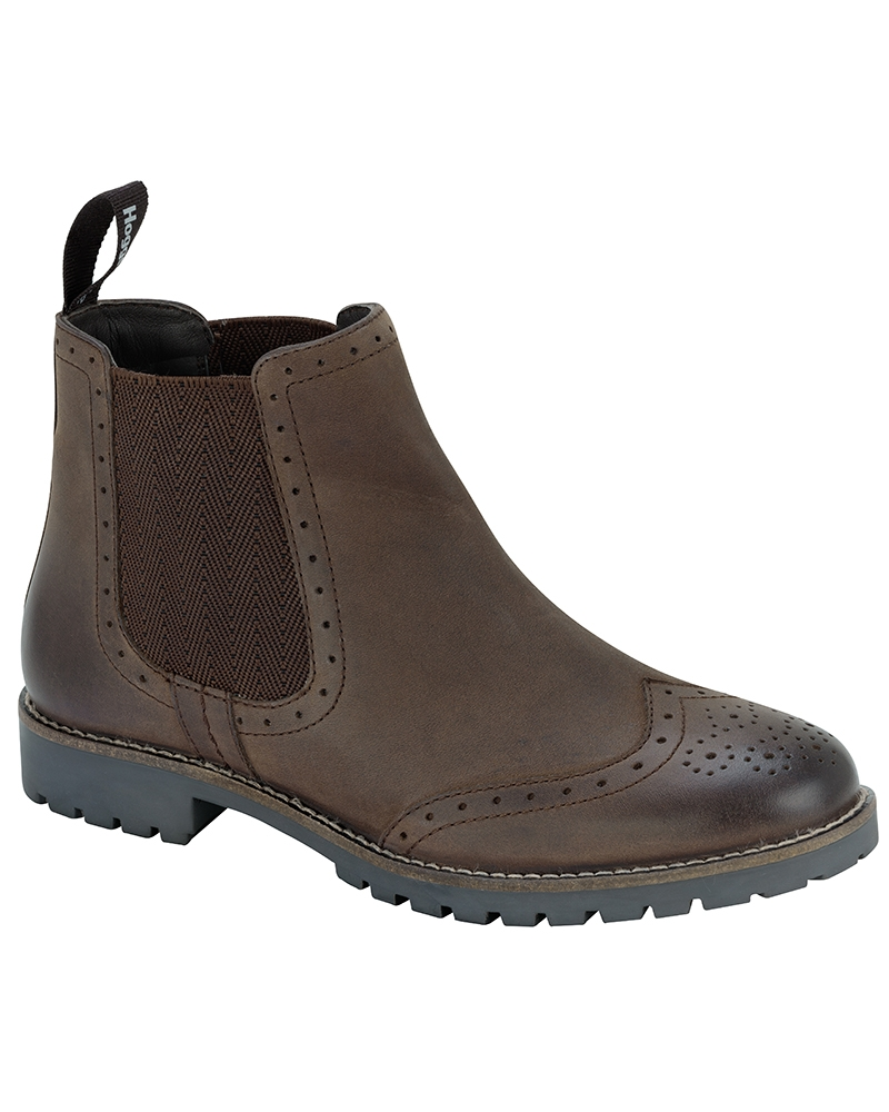 Image for Ladies Paddock Brogue Chelsea Boot