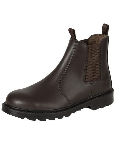 Classic D3 Dealer Boots (Brown)