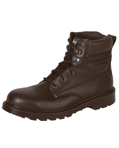 Classic L5 Lace-up Safety Boot (Dk Brown)