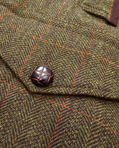 Harewood Lambswool Tweed W/P Shooting Coat