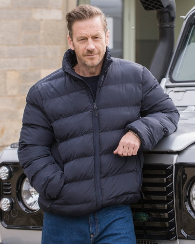 Rex Quilted Jacket (Modelled)