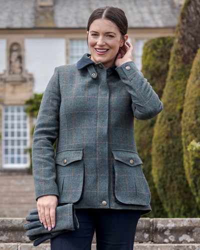 Sherborne Ladies Lambswool Field Coat