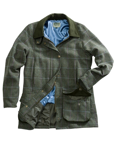 Albany Ladies Lambswool W/P Shooting Coat