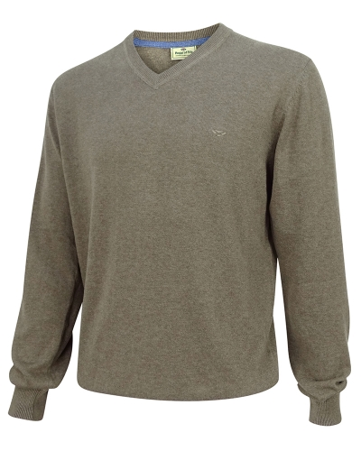 Stirling Cotton Pullover (Beige)
