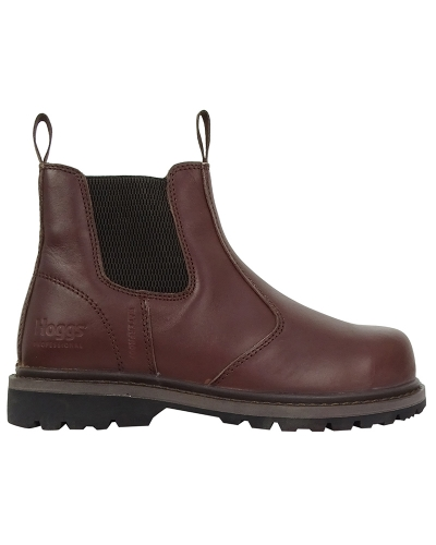 Zeus Safety Dealer Boots (Brown)
