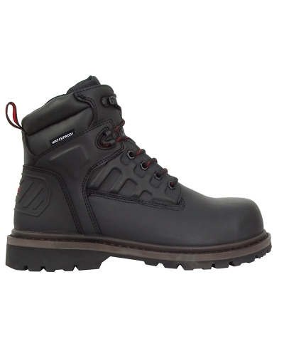 Hercules Safety Lace-up Boots (Black)