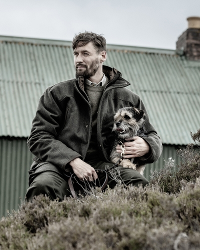 Lairg Waterproof Wool Jacket