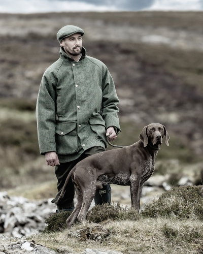 Helmsdale W/P  Tweed Shooting Jacket