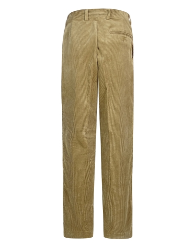 Mid-weight Cord Trousers (Beige)