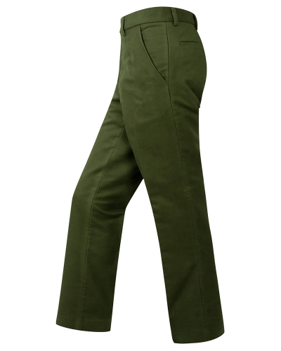 Monarch Moleskin Trousers (Dark Olive)