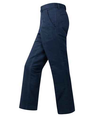 Monarch Moleskin Trousers (Navy)