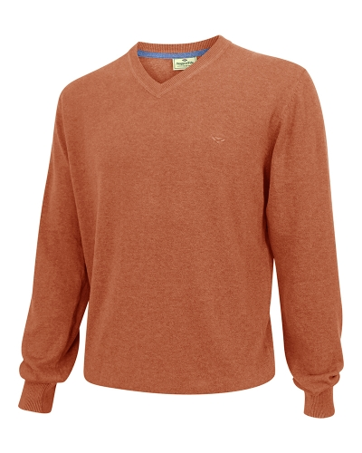 Stirling Cotton Pullover (Rust)