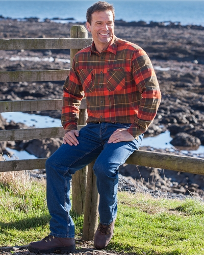Autumn Luxury Hunting Shirt (Modelled)