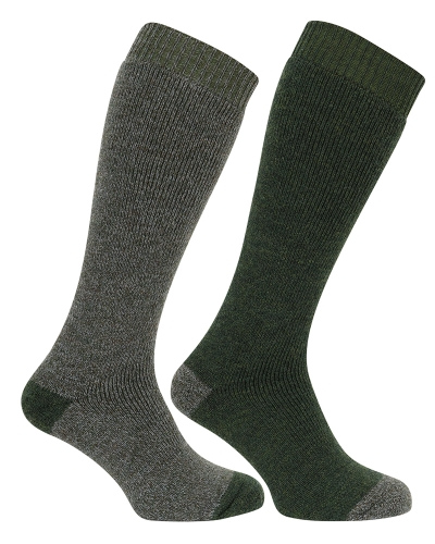 1903 Country Long Sock (Tweed/Loden)
