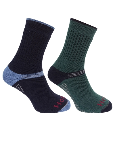 1905 Tech Active Sock (Green/Navy)
