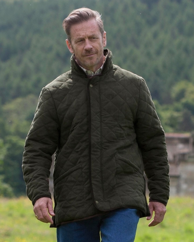 Carlton Quilted Jacket (Model)