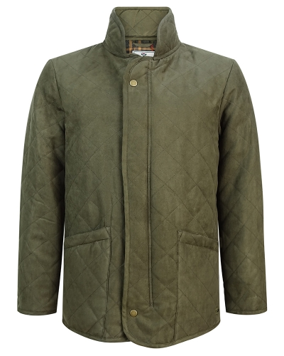 Carlton Quilted Jacket (Dark Green)